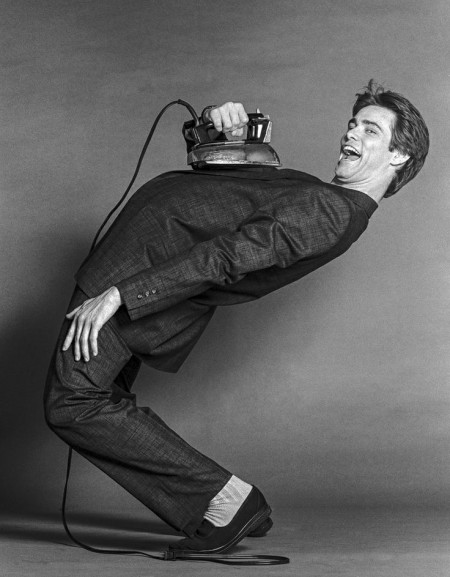 """Jim Carrey With Iron"""