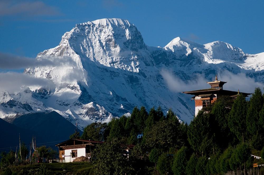 To Gasa Dzong
